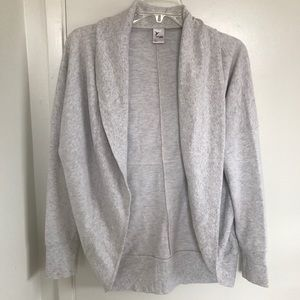 Old Navy cacoon cardigan.